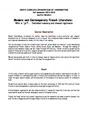French Literature - PDF Free Download cdf2af55b1